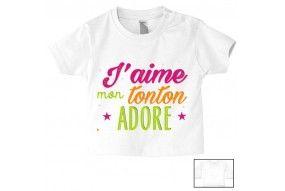 Tee-shirt de bébé on ne touche pas à la princesse de ma tata