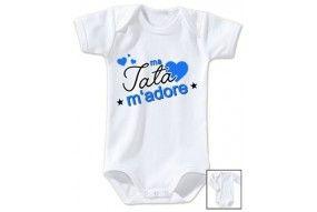 Body de bébé ma tata m'adore fille
