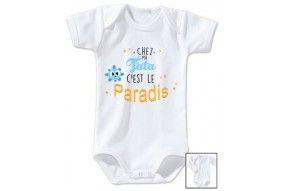 Body de bébé chez mon tonton c'est le paradis fille