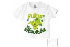 Tee-shirt de bébé futur militaire comme papa