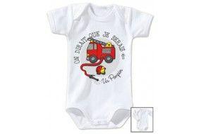 Bavoir de bébé futur militaire comme papa