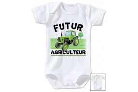 Bavoir de bébé futur mécanicien comme papa
