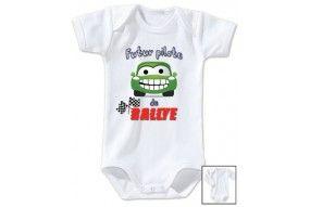 Body de bébé futur carpiste comme papa