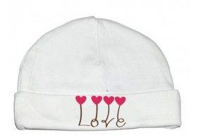 Bonnet de bébé je suis le bébé de l'amour