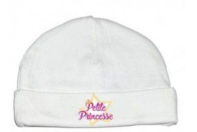 Bonnet de bébé petite princesse star