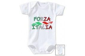 Body de bébé forza italia