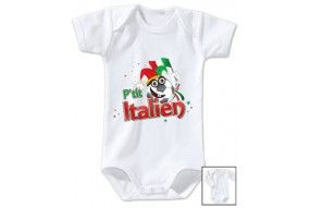 Body de bébé p'tit Italien
