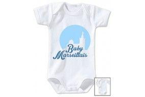 Body de bébé baby Marseillais
