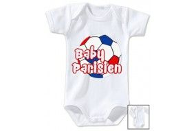 Body de bébé baby Parisien foot