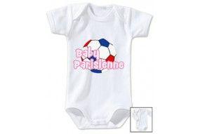 Body de bébé baby Parisienne foot