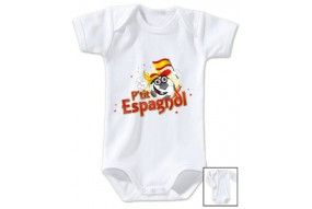 Body de bébé p'tit Espagnol