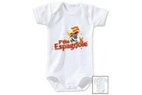 Body de bébé p'tite Espagnole