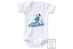 Body de bébé p'tite Française