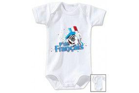 Body de bébé p'tit Français