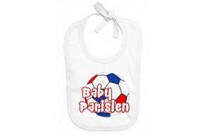 Bavoir de bébé baby Parisien foot