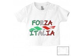 Tee-shirt de bébé forza italia