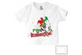Tee-shirt de bébé p'tite Italienne