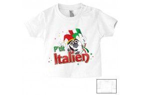 Tee-shirt de bébé p'tit Italien