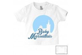 Tee-shirt de bébé baby Marseillais