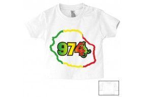 Tee-shirt de bébé 974