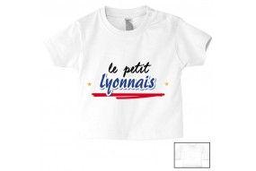 Tee-shirt de bébé le petit Lyonnais bold