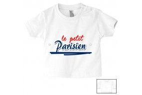 Tee-shirt de bébé le petit Parisien bold