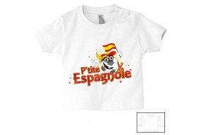 Tee-shirt de bébé p'tite Espagnole