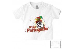 Tee-shirt de bébé p'tite Portugaise