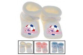 Chaussons de bébé baby Parisienne foot