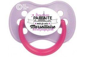 Tétine de bébé La Petite Marseillaise