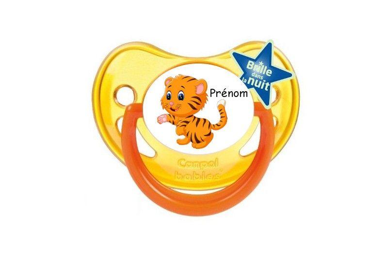 T tine de b b tigre mignon personnalis e - Bebe tigre mignon ...