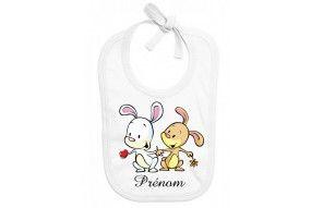 Bavoir de bébé kangourou personnalisé