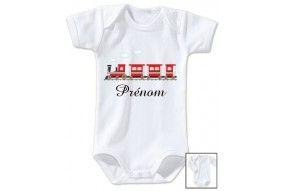 Body de bébé futur militaire comme papa