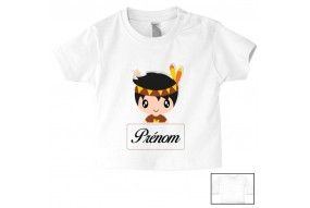Tee-shirt de bébé lancement de fusée personnalisée