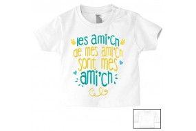 Tee-shirt de bébé je suis une star