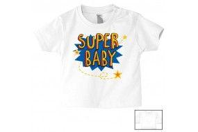 Tee-shirt de bébé chut je dors