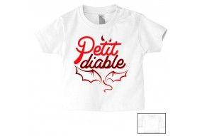 Tee-shirt de bébé je ne râle pas je m'exprime