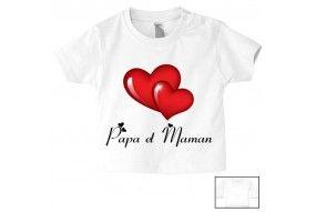 Tee-shirt de bébé vous en rêviez ma mère m'a fait garçon