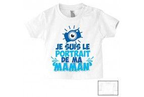 Tee-shirt de bébé n'écoute pas ta mère