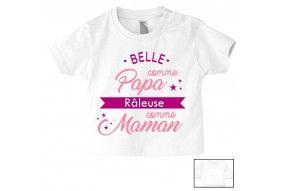 Tee-shirt de bébé ma maman n'a pas besoin de conseil garçon