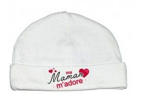Bonnet de bébé désolé les filles mon cœur est à maman